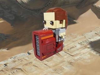 Brickheadz Rey's Speeder
