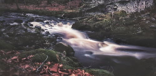 flow flowing water stream longexposure postediting snapseed scottishcountryside scottishlandscape landscape amaturephotographer cellphone phonecamera phoneography marksutherland samsung smartphone androidography galaxys9plus prosettings daylightexposure filter effects scotland uk unitedkingdom dumphail riverfindhorn movement