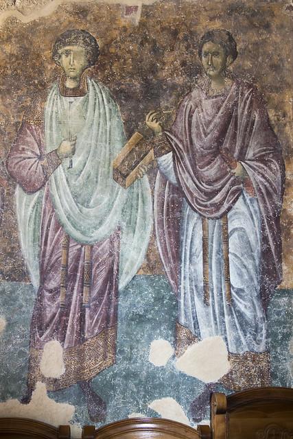 Holy Healers: Panteleimon and Cosmas