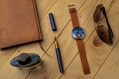 The The Halograph II Watch Automatic Limited Edition (Blue)