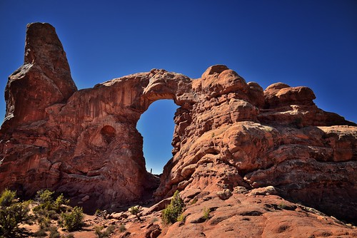 In a Castle Dark or a Fortress Strong (Arches National Park) | by thor_mark 