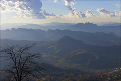 Blue mountains of Italy. Голубые вершины Италии.