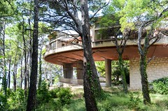 Abandoned Children's Health Resort in Krvavica, Croatia