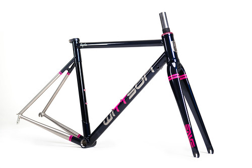 WITTSON x RAPHA Custom Titanium Road Race Project