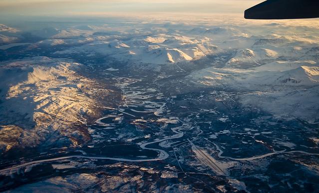 La vall del Målselva / Målselva river