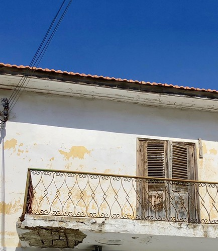 The artistry of Paphos balconies - creative metalwork | by M Angelo