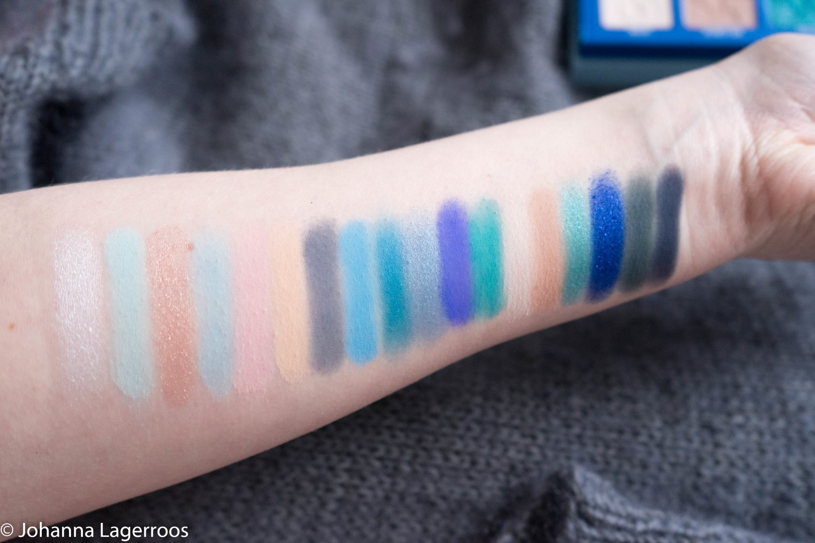 blue blood swatches