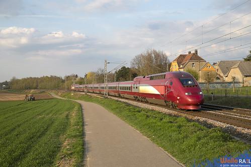 4306 Thalys . 9484 . Übach-Palenberg . 07.04.19.