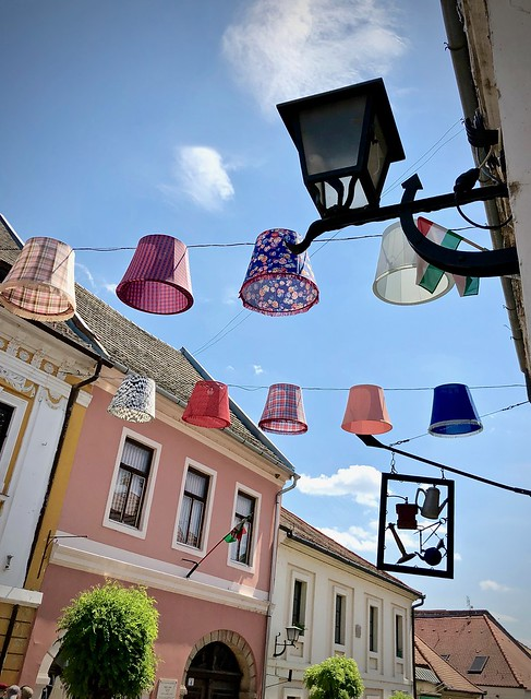 Lampshades in Szentendre 1