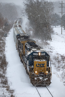 Winter is finally here! | by conrail6809