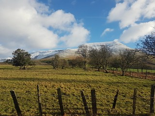 Winter in the Black Mountains