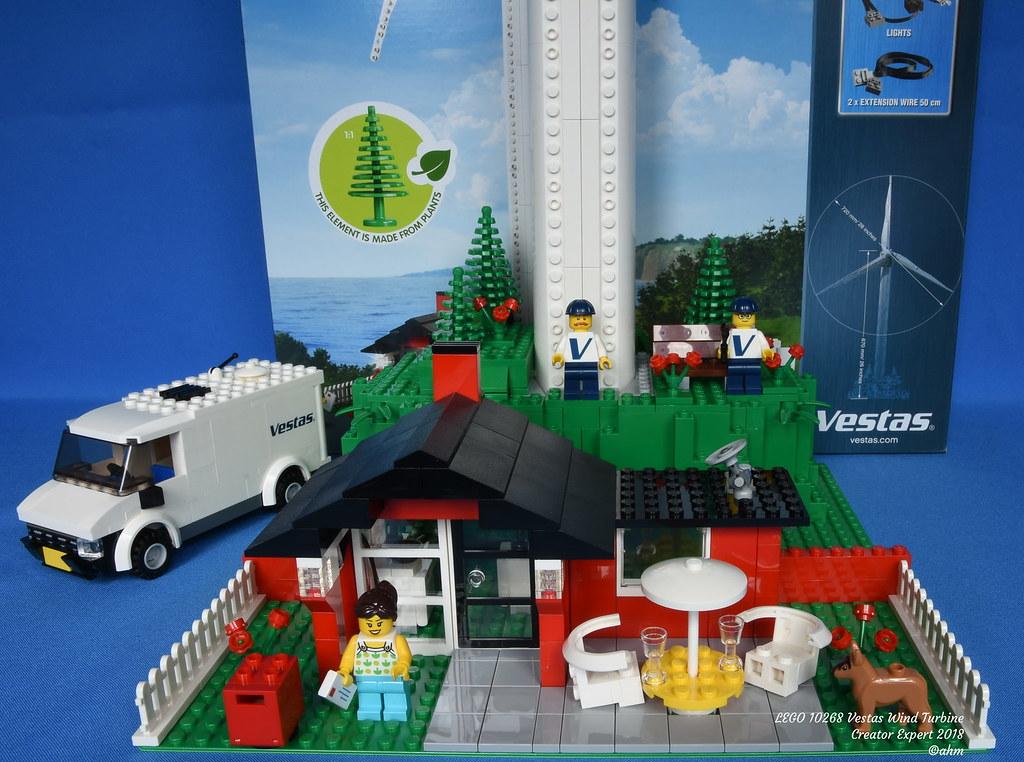 LEGO 10268 Vestas Wind Turbine | LEGO 10268 Vestas Wind Turb