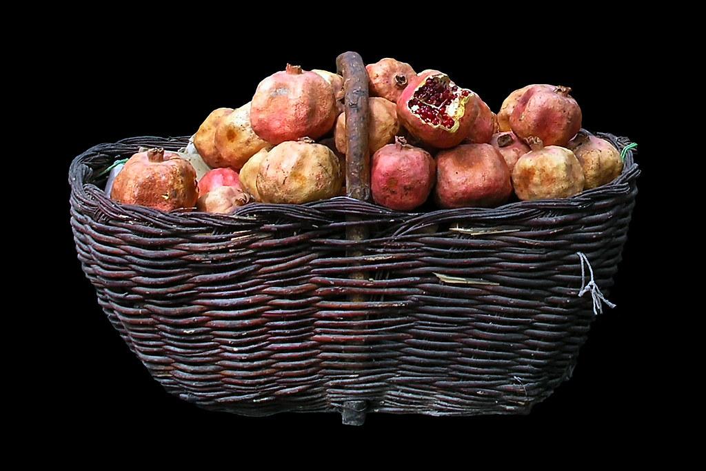 China Kashgar Market Pomegranate The Pomegranate ˈ