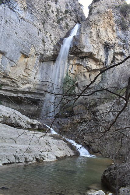 Cascada de Artazul, nacedero de Artera.