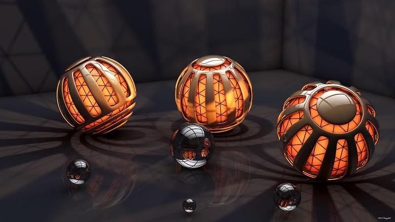 Обои шары, формы, свет, тень картинки на рабочий стол, фото скачать бесплатно
