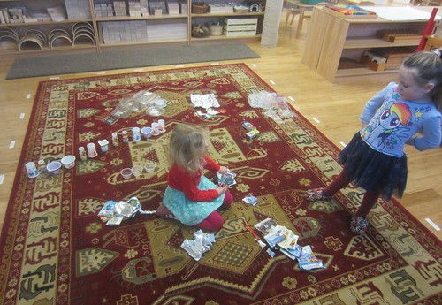 sorting and counting recyclables | by lyn.schmucker