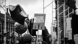 Banner On The March: People's Vote Now | by Stuart Herbert