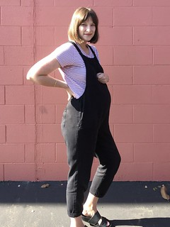 How to style maternity dungarees | by sarahsatongar