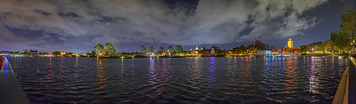 EPCOT Evening Panorama September 23rd, 2017 | by starving student photography