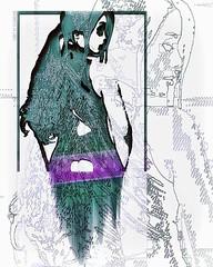 Lost in pixelization // #cyberpunk #netart #rmxbyd #pixelsorting #newmediaart #newaesthetic #generative #creativecoding #generativeart #mixedmedia #contemporaryart #abstract #abstractart #digitalart #surrealart #surreal #surrealism #gothgirl #goth #altern