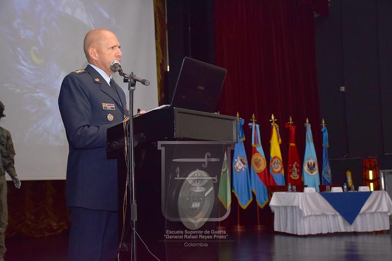 Cátedra Colombia con el Comandante Fuerza Aérea Colombiana