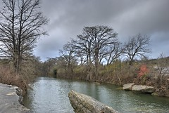 Onion Creek in Winter