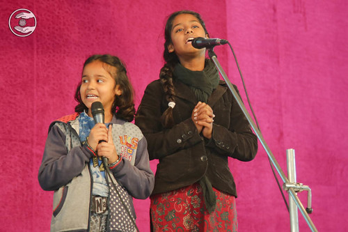 Devotional song by Child devotees
