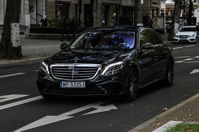 Poland (Warsaw-Pr.Pol.) - Mercedes-Benz S 63 AMG V222