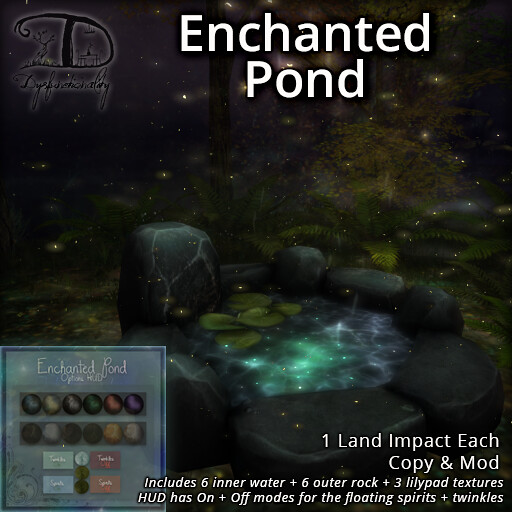 Enchanted Pond - TeleportHub.com Live!