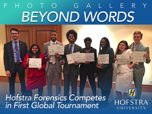 Hofstra Forensics Competes in Berlin