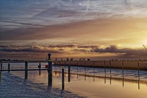 ostfriesland ems dalben marina goldene stunde emsseitenkanal