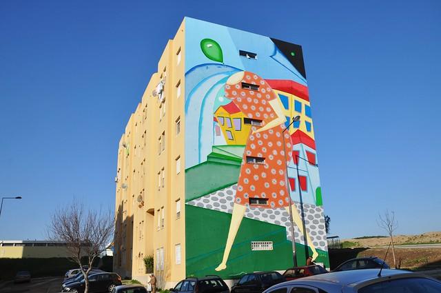 Lisboa - street art (Bairro Padre Cruz)