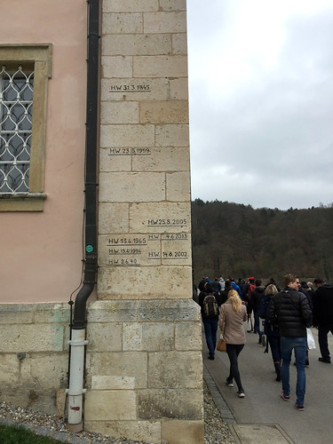 22 - Hochwassermarken - Kloster Weltenburg