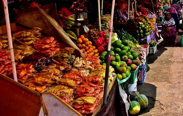 INDONESIEN, Bali, Markt von Bedogul,  18078/11337