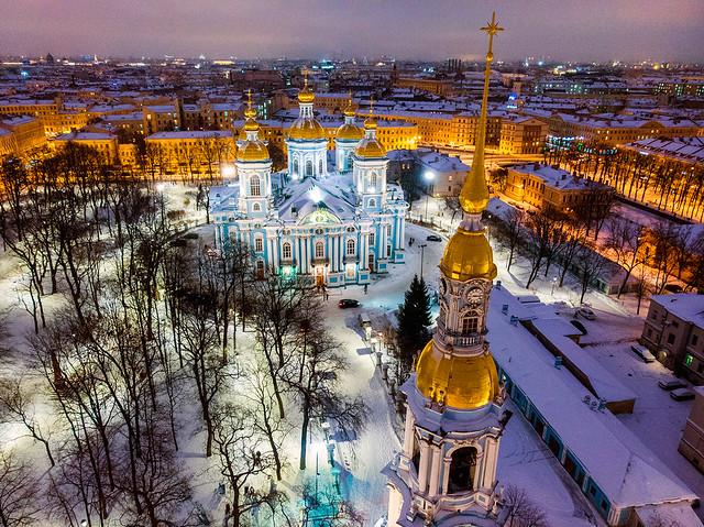 St. Nicholas Naval Cathedral (Никольский морской собор)