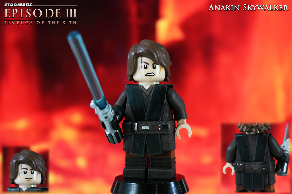 Custom Lego Star Wars Episode Iii Revenge Of The Sith A Flickr
