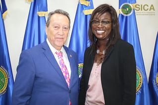Reunión del SG con la señora Y. Seynabou Sakho, Directora para América Central Región América Latina y el Caribe del Banco Mundial