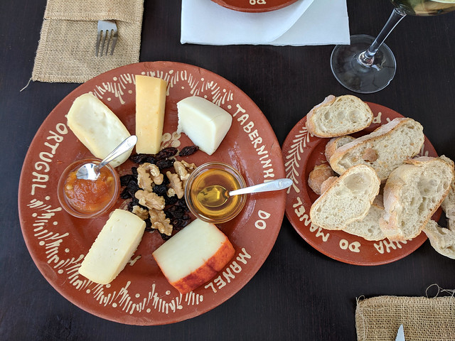 cheese plate @ Taberninha do Manel