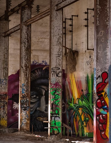 Art in the Abandoned Pic #3 | by SpyderMarley