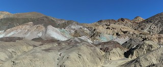 0203 Colorful mineral deposits on Artists Drive in Death Valley   by _JFR_