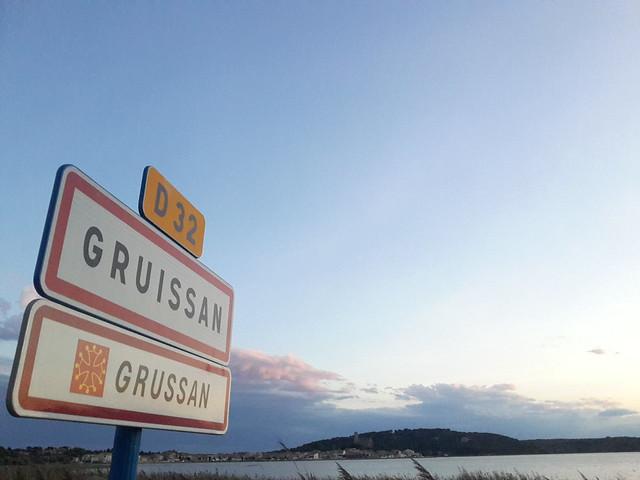 Entrée d'agglomération Gruissan