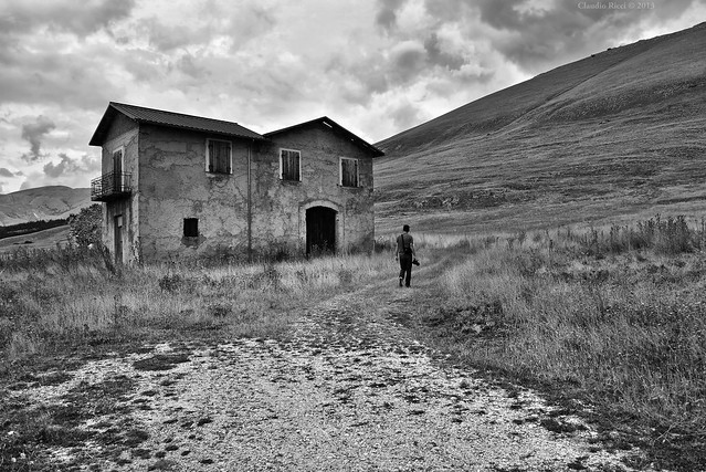 Lonely House, Abruzzo, Central Italy