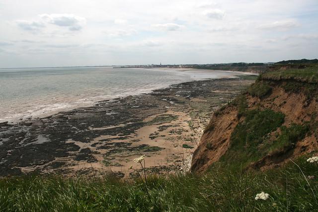 The coast near Sewerby