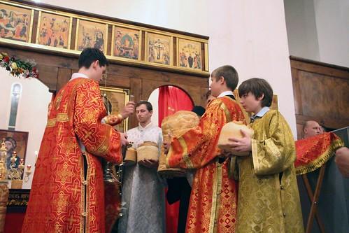 Пасхальное Богослужение в Свято-Никольском храме станицы Кавказской IMG_1471