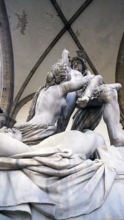 The Rape of Polyxena Loggia dei Lanzi
