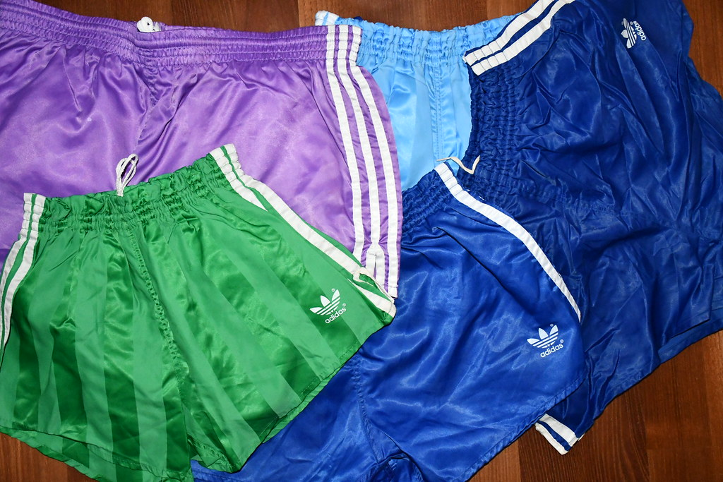Ideal Carnicero abdomen  ADIDAS Nylon Shorts from the 80's in perfect condition,lik… | Flickr