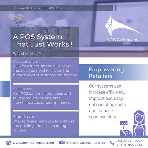 No matter what the size of your enterprise, a POS system will have features that will be able to considerably enhance both the day-to-day performance of your in-house staff, as well as your long term planning and projections.  Get in touch  📱0094 7