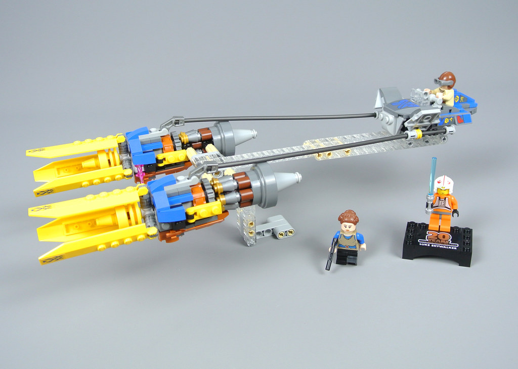 Lego Star Wars Anakin/'s Podracer 20th Anniversary Edition 75258 IN STOCK