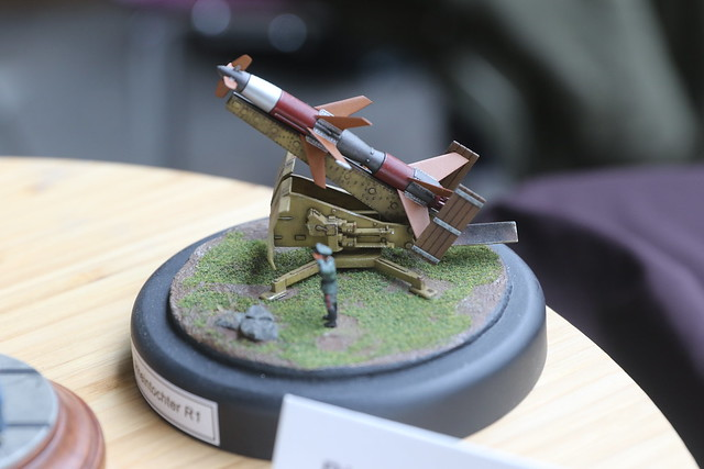 Rheintochter R-1 - 1/72 Modelcollect - Manu