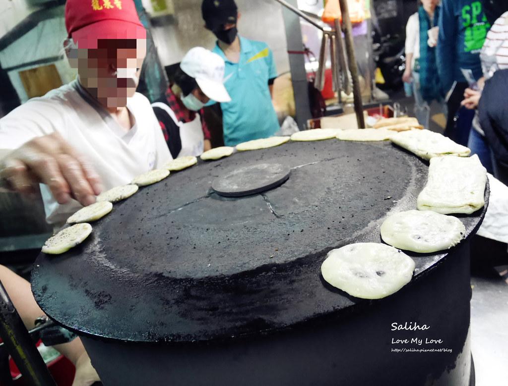 台北南機場夜市小吃美食餐廳推薦米其林排隊人氣無名燒餅 (1)
